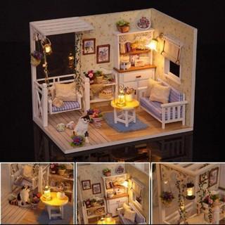 Mô hình nhà gỗ ghép kute phát triển trí tuệ, sáng tạo cho bé