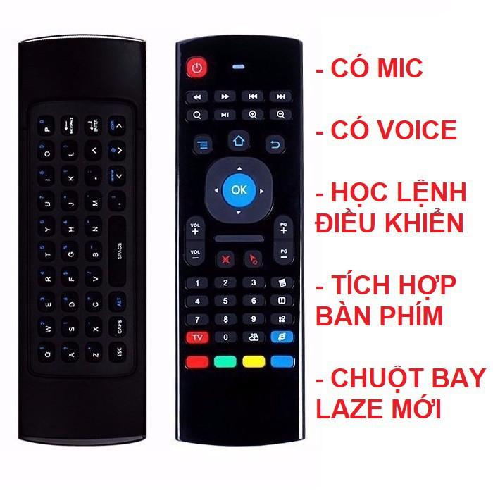 [CHUỘT BAY] AIR MOUSE Bàn phím kiêm chuột điều khiển TV/P