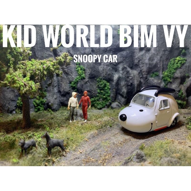 Xe mô hình Tomica Disney Snoopy Car. MS: 025.