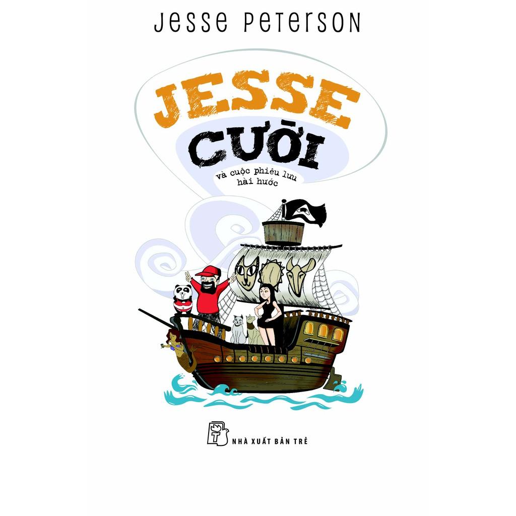 Sách: Jesse cười và cuộc phiêu lưu hài hước (Tặng chữ ký tác giả)