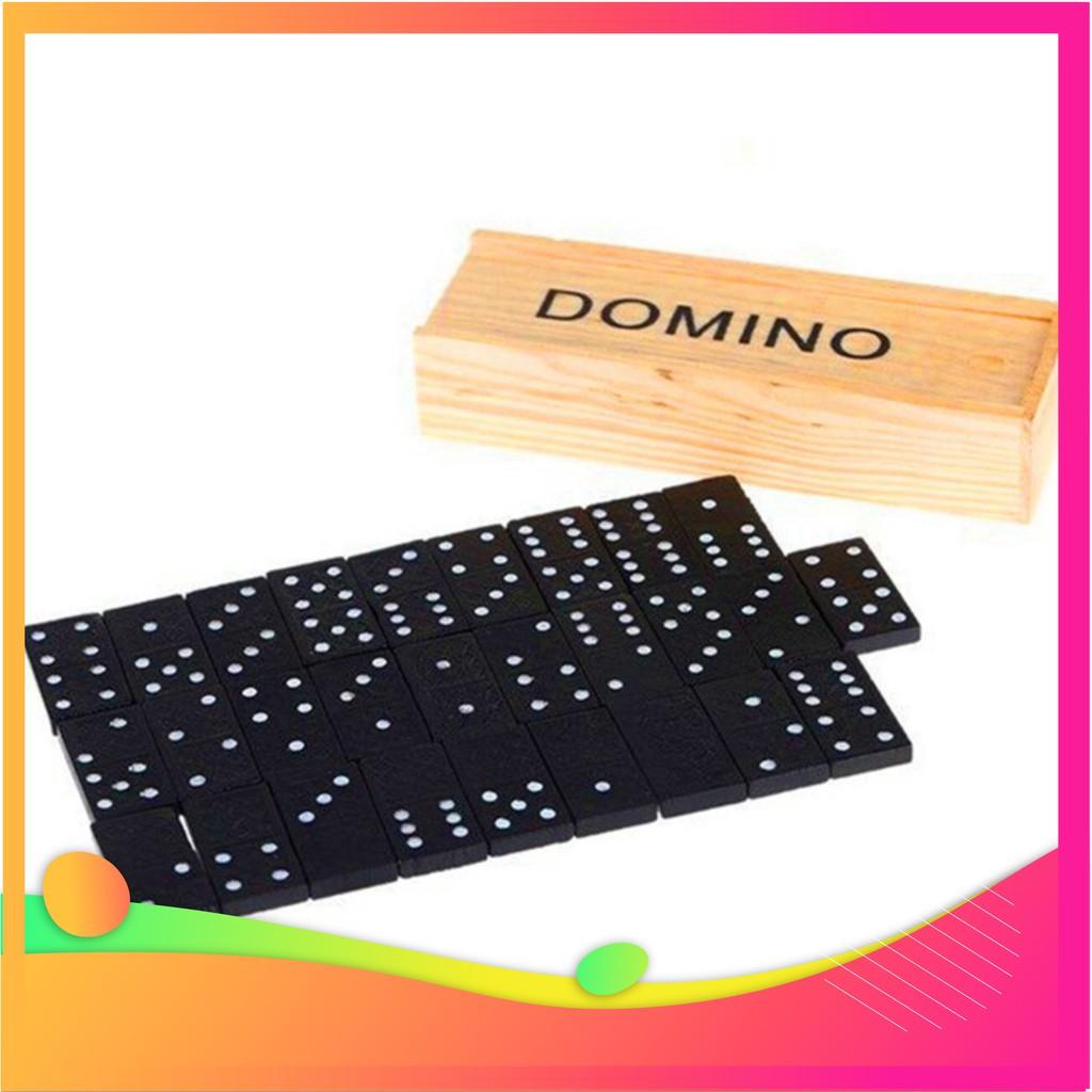 (Cắt Lỗ) Bộ đồ chơi domino,Bộ đồ chơi giáo dục trẻ em Domino –6180 (Hàng Cao Cấp)