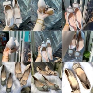 Giày gót mũi nhọn