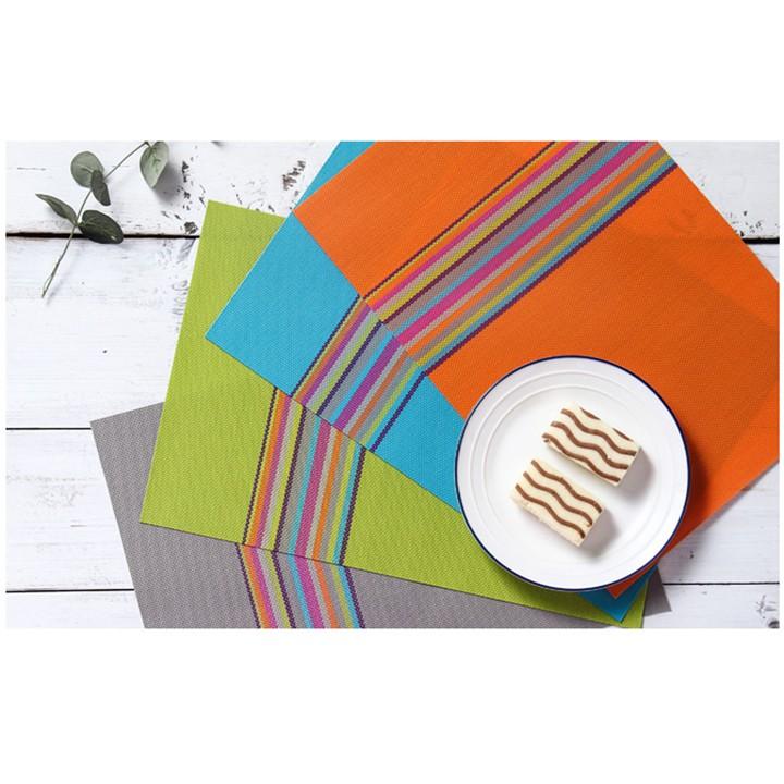 Tấm trải bàn ăn sang trọng, Khăn trải bàn ăn nhựa PVC phong cách Châu Âu dùng trong nhà hàng, khách sạn, phòng ăn uống