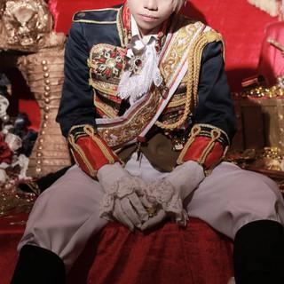 Áo khoác cosplay APH Prussia