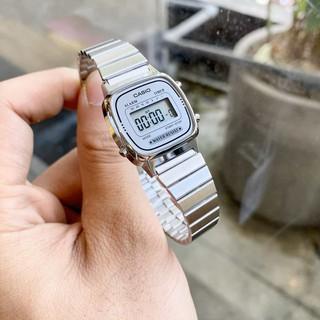 Đồng hồ nữ Casio LA670 quý phái, siêu phẩm casio chống nước không gỉ phong cách - Haizz.shop thumbnail