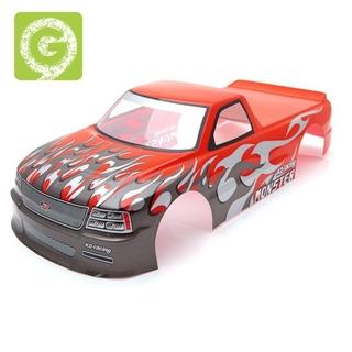 for 1/10 RC Car Venom T-10 PVC Painted Body Shell 1/10 RC Car,Red