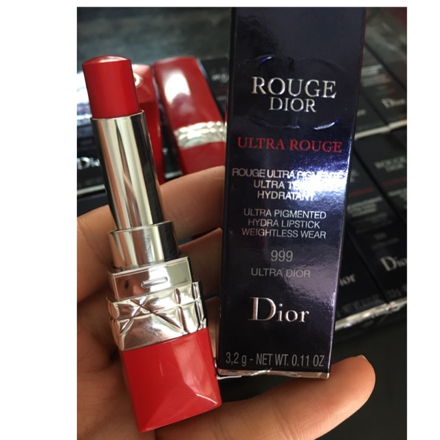 Son Dior ultra rouge 999 fullbox