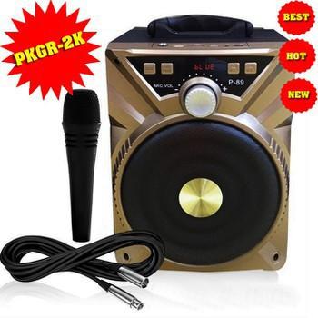[HÀ NỘI] Loa di động blutooth P88 P89 kèm mic dây