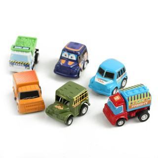 Túi 6 ô tô đồ chơi mini siêu tốc độ cho bé thumbnail