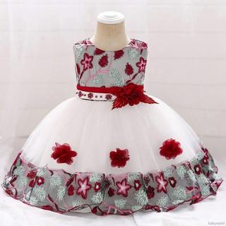 Đầm không tay họa tiết hoa dễ thương cho bé gái