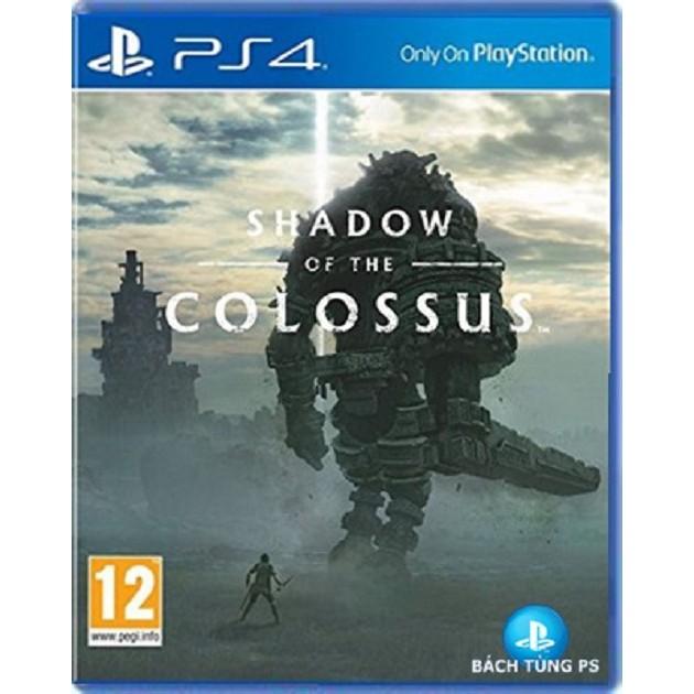 Đĩa Game Ps4 :Shadow of the Colossus tặng ngay 01 áo phông