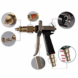 Súng xịt rửa chuyên nghiệp tăng áp lực nước gấp 3 lần 206236 Chất lượng cao đầu đồng thumbnail