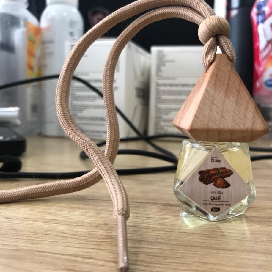 Tinh dầu Cenota cỏ mộc treo xe hương sả chanh 5ml