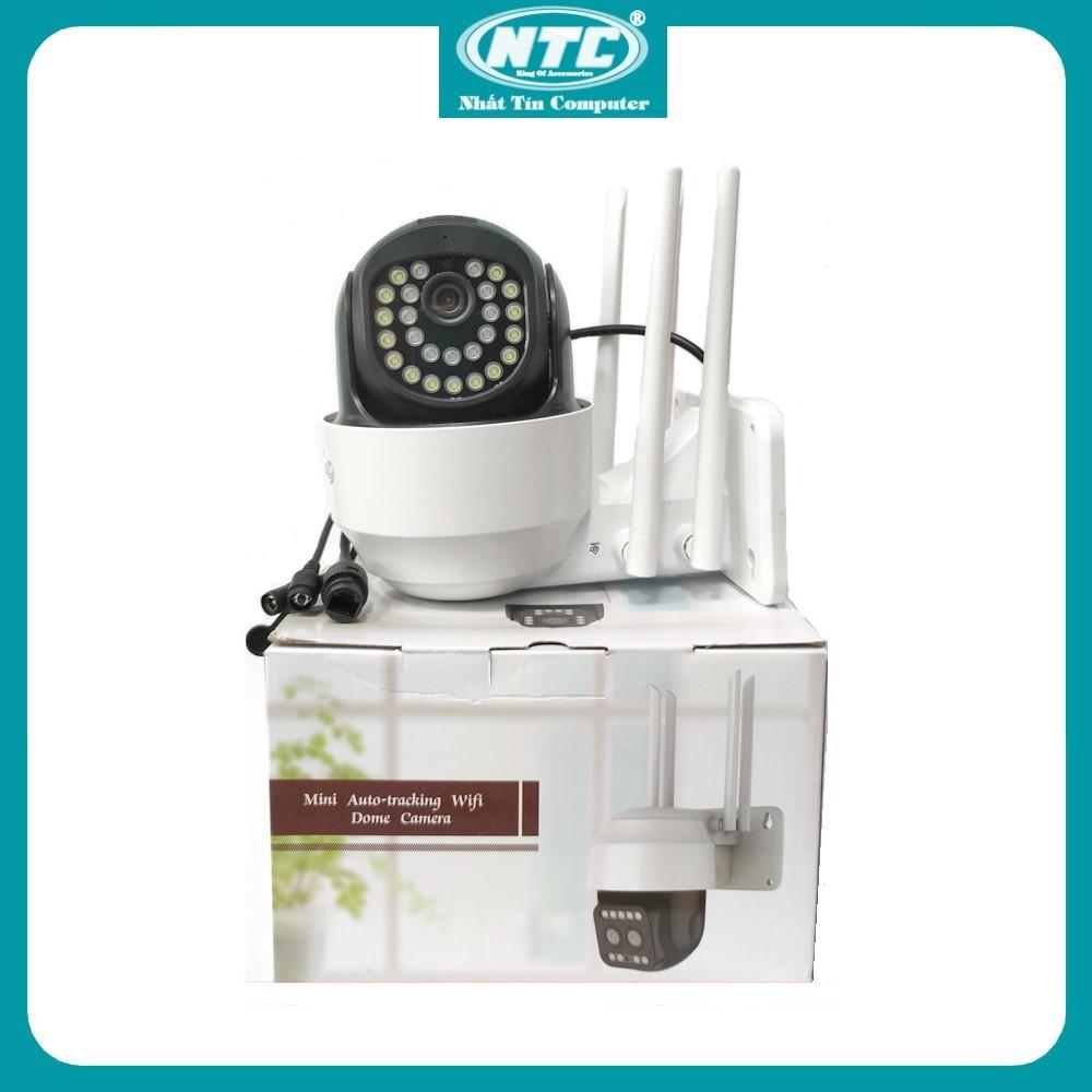 Camera IP Wifi Ngoài trời Yoosee PTZ 4 Râu FullHD 1080P 15 LED trợ sáng, 11 LED hồng ngoại, xoay 355 độ (Trắng)