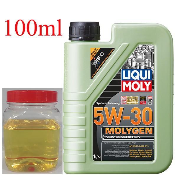 Dầu nhớt tổng hợp cao cấp xe tay ga Liqui Moly Gen 5W-30 chiết lẻ 100ml