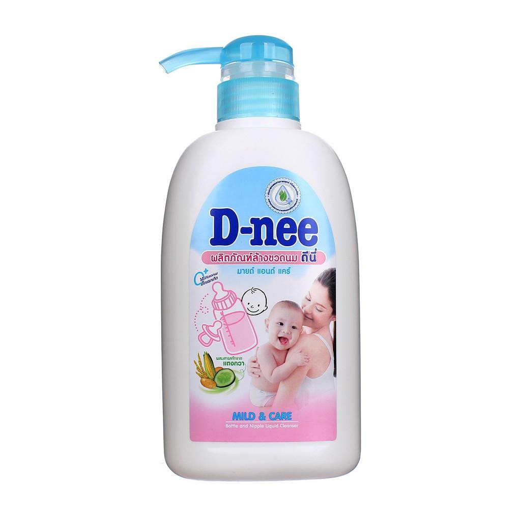 Nước rửa bình sữa và rau quả Dnee chai 500ml
