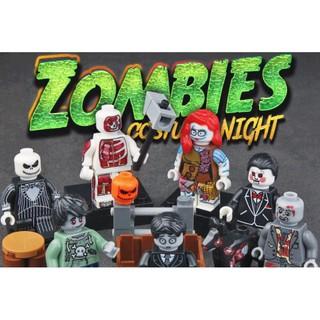 7 Mẫu Nhân Vật Zombies Mới Nhất