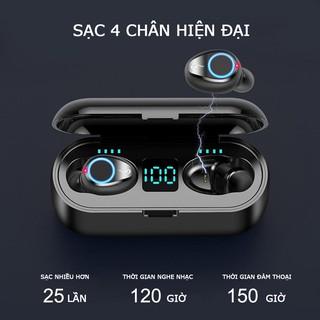 [Mã ELFLASH5 giảm 20K đơn 50K] Tai Nghe Bluetooth F9 Pro Max 2020| Nút cảm ứng | Bluetooth 5.0
