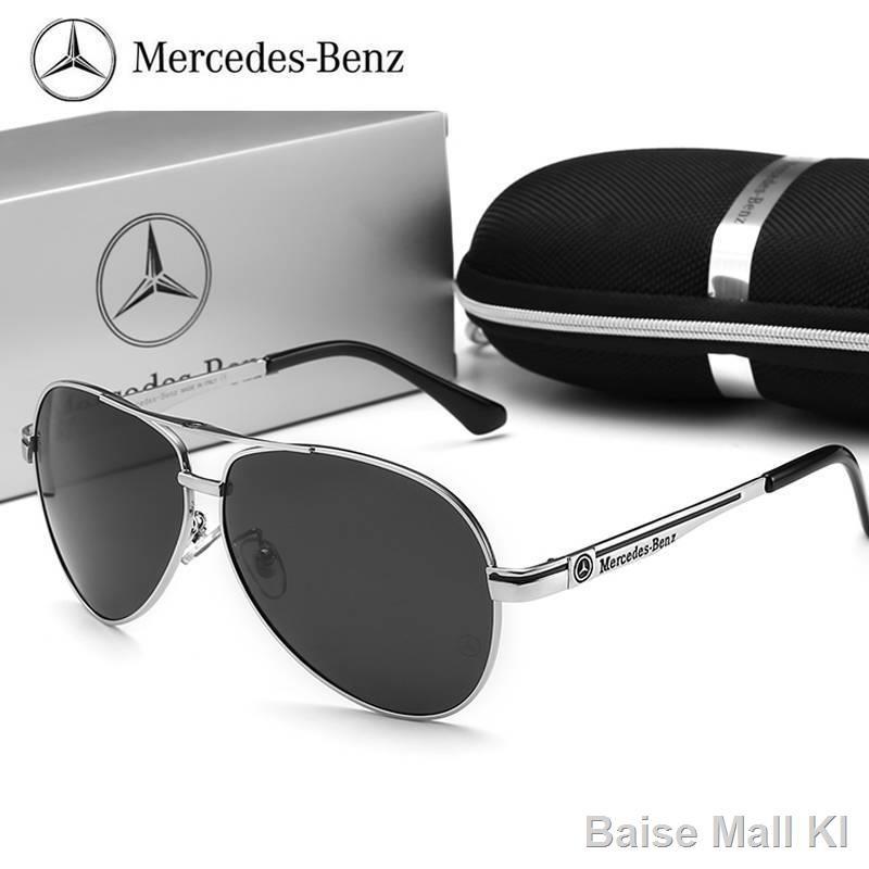 Kính mát nam nữKính râm Mercedes-Benz nam phân cực độ nét cao1