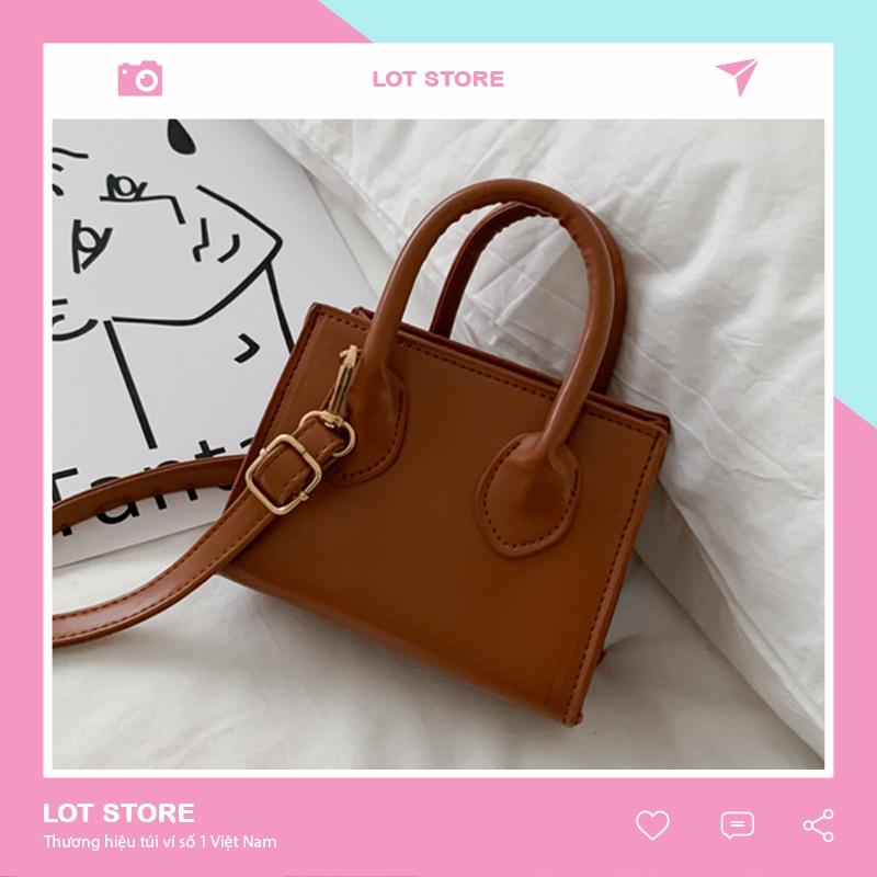 Túi xách nữ đẹp đeo chéo thời trang cao cấp giá rẻ LOT STORE TX701