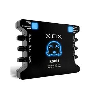 Sound card XOX KS108 cho micro thu âm, sound card hát karaoke hát live stream âm thanh tuyệt đỉnh