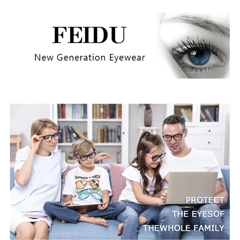 Mắt kính chặn ánh sáng xanh của FEIDU- 1 hộp gồm 4 kính