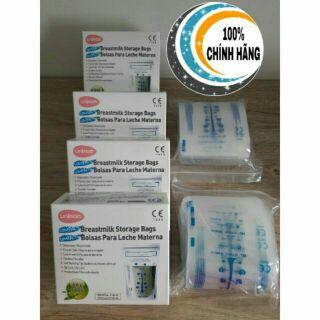 Túi Trữ Sữa Unimom hộp 60 túi MADE IN KOREA