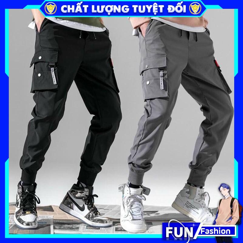Quần jogger nam FUN 💥FREESHIP💥 Quần thể thao nam mã TT33 kiểu dài thun túi hộp dáng kaki bó ống Hàn Quốc chất vải đẹp