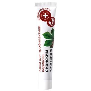 Kem dưỡng da chân Domashnij Doctor chống suy giãn tĩnh mạch chiết xuất từ Hạt Dẻ Ngựa 42 ml thumbnail