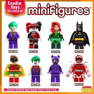 Bộ 8 minifigure nhân vật siêu anh hùng – PG8032
