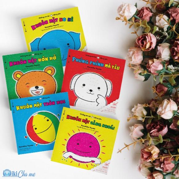 Combo Sách Ehon Nhật Bản - Em bé hạnh phúc (dành cho bé 0-2 tuổi) Phát triển trí tuệ cho bé