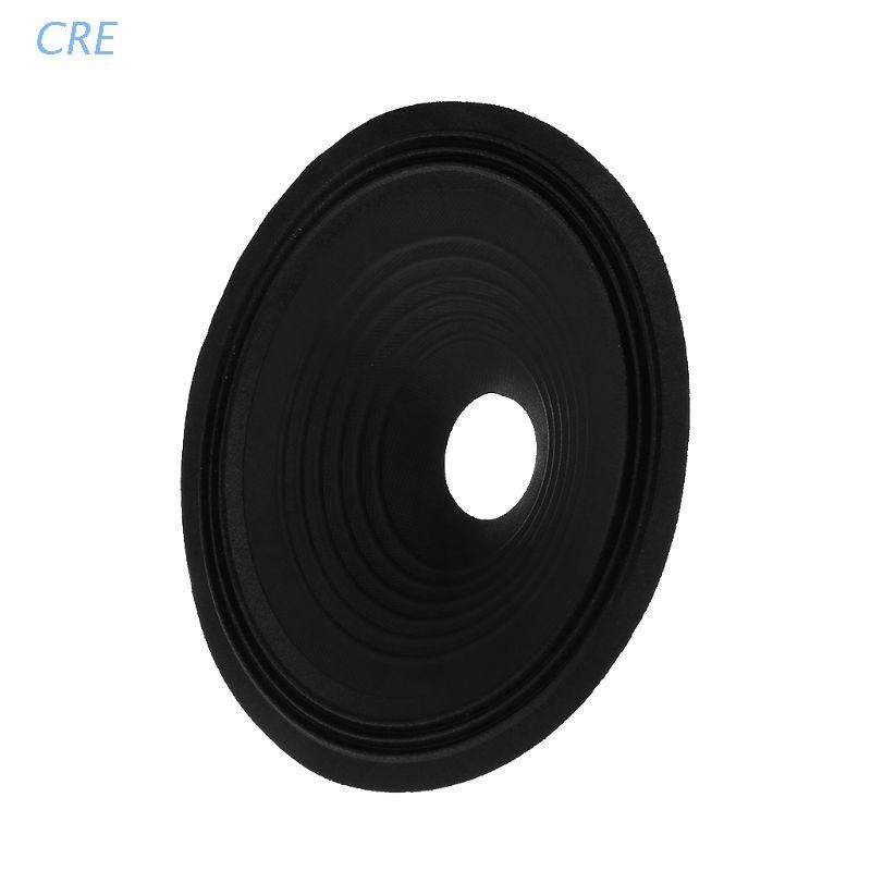 "CRE  Speaker Paper 8"" Cone Basin Drum 3 Fold Line Cloth Side Core Woofer Accessories"