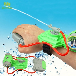 5M Range Wrist Water Blaster Plastic Children Kids Outdoor Sprinkling Toy for Swimming Pool Beach