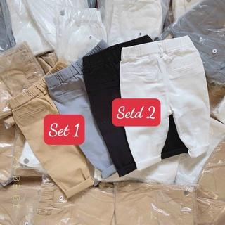 Set 2 quần kaki bé trai