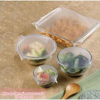 Màng bọc thực phẩm silicon Stretch and Fresh sản phẩm thiết yếu cho gia đình - 2530410 , 1189184929 , 322_1189184929 , 39000 , Mang-boc-thuc-pham-silicon-Stretch-and-Fresh-san-pham-thiet-yeu-cho-gia-dinh-322_1189184929 , shopee.vn , Màng bọc thực phẩm silicon Stretch and Fresh sản phẩm thiết yếu cho gia đình