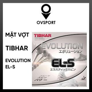 Mặt Vợt Bóng Bàn Tibhar Evolution EL-S Co Dãn, Đàn Hồi Tốt, Độ Bám và Tốc Độ Cao