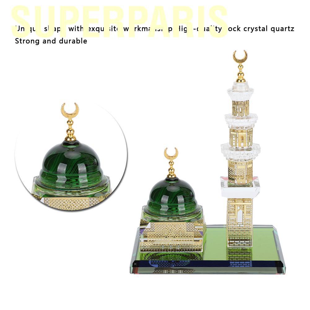 Tượng Thủy Tinh Trang Trí Phong Cách Hồi Giáo