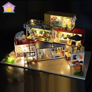 DIY Mô hình tự lắp ráp mô phỏng nhà container