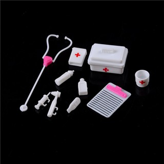 1Set Doll Accessory Pretend Medical Toy Nurse Doctor Tool Instruments For Barbie