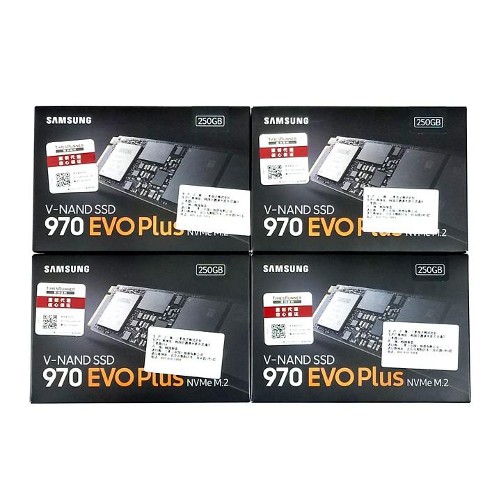 Ổ cứng SSD M.2 PCIe NVMe Samsung 970 EVO Plus 250GB 500GB - bảo hành 5 năm