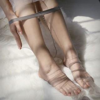 Quần tất da chân siêu mỏng tàng hình có sẵn màu đen khói xám cà phê đi thật chân thumbnail
