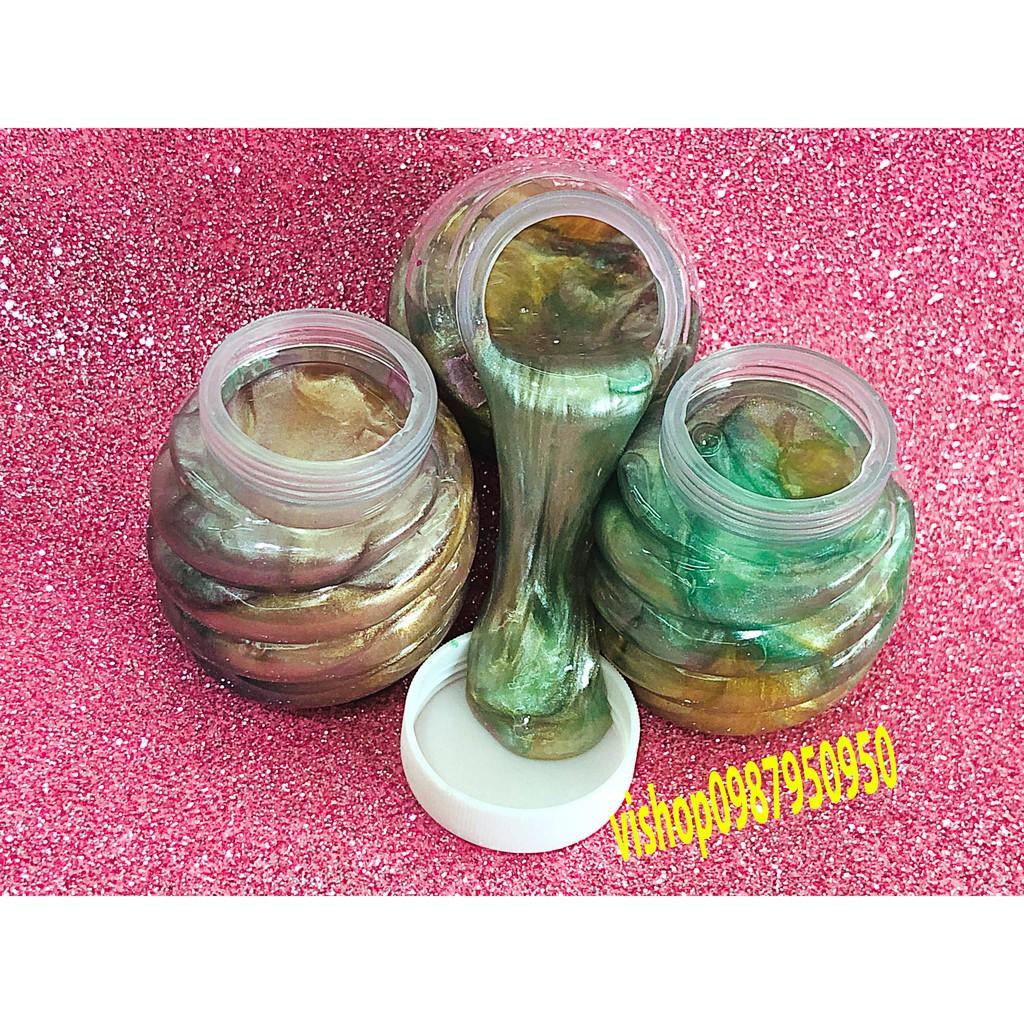 đồ chơi slime magic dứa phối màu galaxy mã UBD91 Xcho nam và nữ
