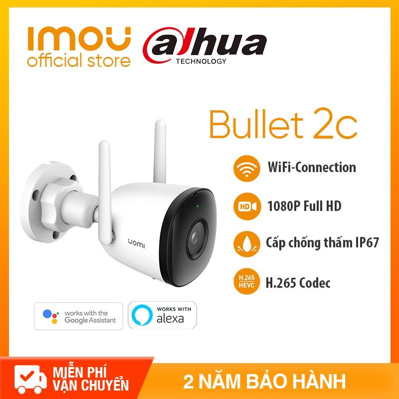 DAHUA CAMERA IPC WIFI IMOU F22 - NGOÀI TRỜI FULL HD 1080P -Tầm nhìn ban đêm- - Bảo hành chính hãng2 năm