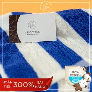 Khăn mặt VIECOTTON Ver2 100% cotton siêu thấm hút – Cam kết giao đúng màu