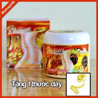 [TẶNG 1 THƯỚC DÂY NGẪU NHIÊN] Kem tan mỡ bụng gừng ớt FLOURISH Thái Lan 500ml giúp vòng eo thon gọn, hông đùi săn chắc thumbnail