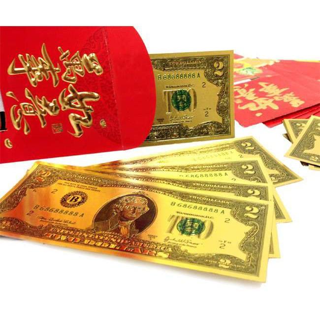 Tiền đô mạ vàng