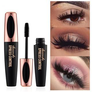 4D Silk Fiber Lash Mascara Waterproof Mascara Eyelash Extension for Black Thick Lengthening Eye Lashes Cosmetics thumbnail