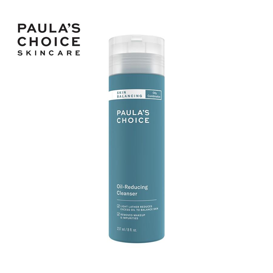 Sữa rửa mặt cân bằng độ ẩm và giảm dầu Paula's Choice Skin Balancing Oil Reducing Cleanser 237ml 1150