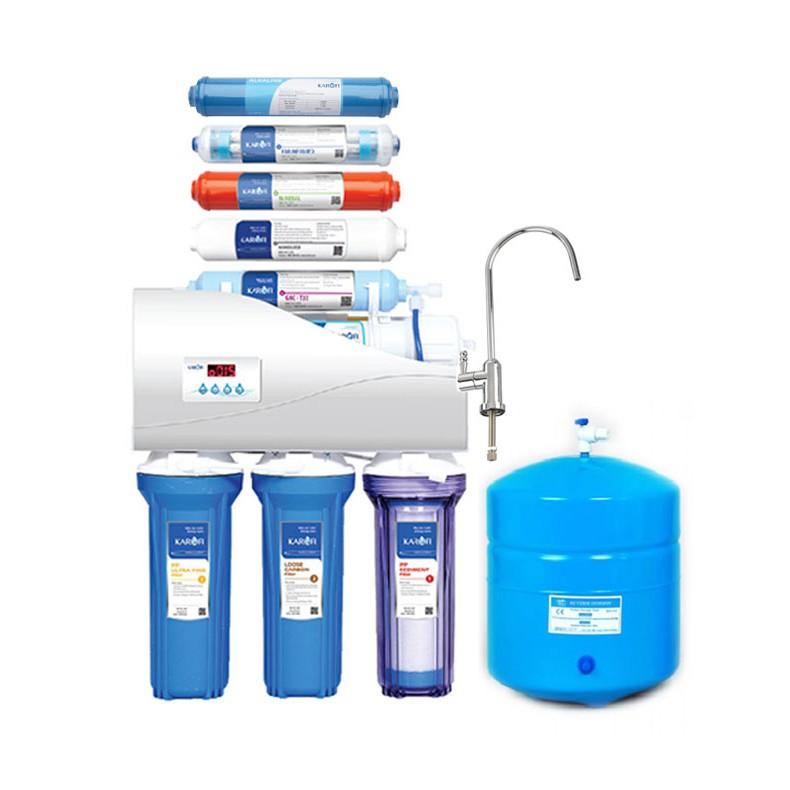 [ELHABK11 giảm 9% tối đa 1TR] Máy lọc nước Karofi 8 cấp không tủ KT-K8I-1