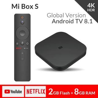 Yêu ThíchAndroid Tivi Box Xiaomi Mibox S 4K Global (Android 8.1) - Hàng chính hãng DGW - Bảo hành 12 tháng